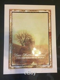 Dave Matthews Band Poster 2008 Bristow VA Methane Print