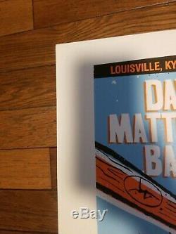 Dave Matthews Band Poster 2008 Louisville, KY Methane Artist Proof Mint Slugger