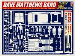 Dave Matthews Band Poster 2010 Charlotte North Carolina Signed & Numbered #/500