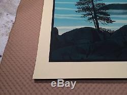 Dave Matthews Band Poster 2013 Harvey's Lake South Lake Tahoe Numbered #/585 DMB