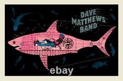 Dave Matthews Band Poster 2013 West Palm Beach N2 S/N #/710 Rare