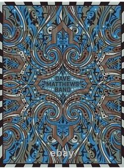 Dave Matthews Band Poster 2014 Camden NJ N2 Numbered #/745 Rare