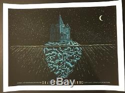 Dave Matthews Band Poster 2014 Darien Lake NY Todd Slater Signed Numbered #/600
