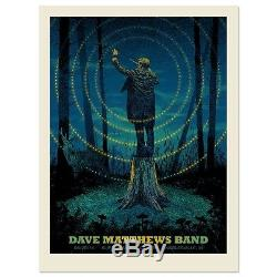 Dave Matthews Band Poster 2014 Noblesville N1 Numbered #/1000 Rare