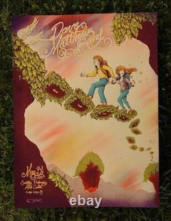 Dave Matthews Band Poster 2014 SPAC Saratoga Springs NY N2 A/P Rare