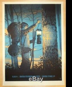 Dave Matthews Band Poster 2014 SPAC Saratoga Springs, NY Signed AP Rare