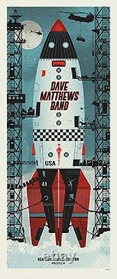 Dave Matthews Band Poster 2015 Noblesville Numbered #/1000 Rare