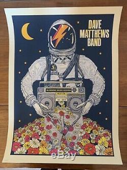 Dave Matthews Band Poster 2016 Blossom Cuyahoga Falls OH