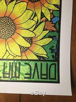 Dave Matthews Band Poster 2019 GORGE Chuck Sperry DMB See pictures for Detail