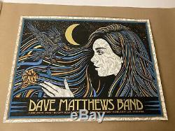 Dave Matthews Band Poster 2019 N2 Noblesville, IN SLATER Show Edition MINT