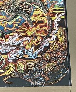 Dave Matthews Band Poster 2021 Quincy WA Gorge Miles Tsang AP Swirl Foil 6 of 50