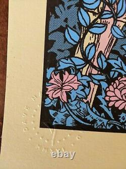 Dave Matthews Band Poster 6/22/2016 Syracuse NY S/N DMB Lakeview Amphitheater