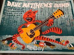 Dave Matthews Band Poster 6/28/13 Camden 2013