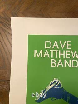 Dave Matthews Band Poster 8/13/2008 Oklahoma City, OK AT&T Bricktown Ballpark
