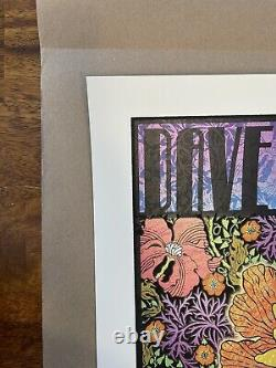 Dave Matthews Band Poster 8/23/14 Chuck Sperry, Greek Theatre, Berkeley Ca