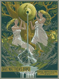 Dave Matthews Band Poster 8/30/2014 Gorge N2 Numbered #/1455