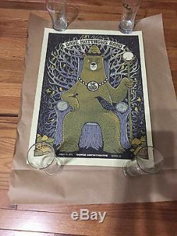 Dave Matthews Band Poster 8/31/13 Gorge King Bear Wa Rare