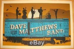 Dave Matthews Band Poster 9/4/2011 Gorge N3 Rare Numbered #/1050