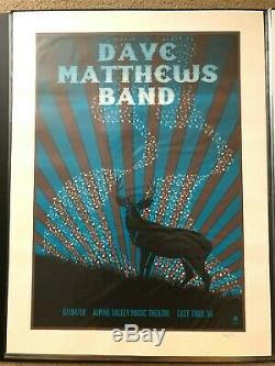 Dave Matthews Band Poster Alpine Valley 7/4/10 DMB Methane