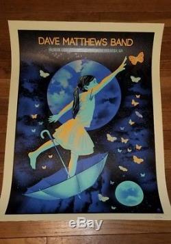 Dave Matthews Band Poster Atlanta, GA 5/25/2018 Methane Studios SOLD OUT! MINT
