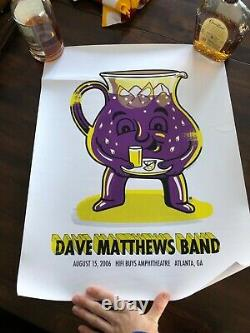 Dave Matthews Band Poster August 15, 2006