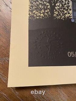 Dave Matthews Band Poster Brandon, MS 2018 Methane Moon SE Warehouse Embossed