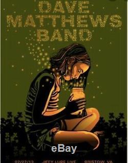Dave Matthews Band Poster Bristow Fireflies