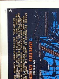 Dave Matthews Band Poster Caravan Bader Field Atlantic City Nj