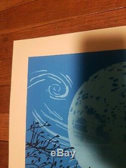 Dave Matthews Band Poster Charlottesville METHANE Signed AP Mint not treehouse