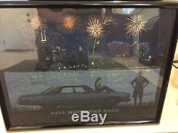 Dave Matthews Band Poster Chicago 2014 Rare July 4 Northerly Island