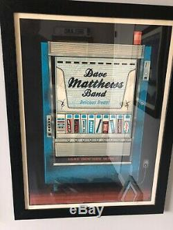 Dave Matthews Band Poster DMB Hartford 2012- Vending Machine