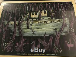 Dave Matthews Band Poster Darien Lake 2012 7/3/12