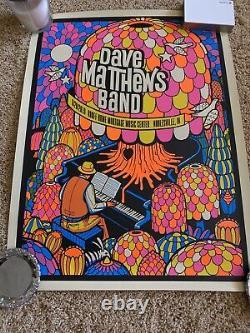 Dave Matthews Band Poster Deer Creek N1 6/28/19 Noblesville Indiana Numbered