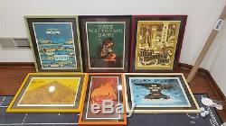 Dave Matthews Band Poster Fireflies Bristow, Hershey, Burgettstown, 1st Mariner