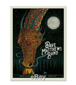 Dave Matthews Band Poster Gorge 2019 N1 Methane Studios /1700 Mint Sold Out WA
