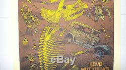 Dave Matthews Band Poster Gorge George N3 8/31/2014 Poster Numbered & Signed