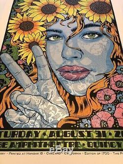 Dave Matthews Band Poster Gorge N2 2019 Chuck Sperry /1700 Mint SILKSCREEN
