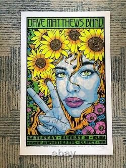 Dave Matthews Band Poster Gorge N2 2019 Chuck Sperry S/N print edition of 1700