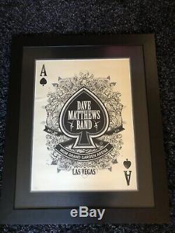 Dave Matthews Band Poster Las Vegas Mgm Grand May 2009 Custom Framed #578/800