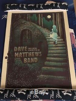 Dave Matthews Band Poster Manchester, NH SNHU Tour 12/4 2018 IN HAND FAST SHIP