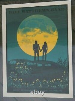 Dave Matthews Band Poster Merriweather 8/21/21 Columbia MD DMB Event Poster