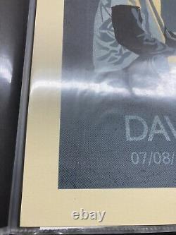Dave Matthews Band Poster Methane Columbus 2016 M/NM 630/715