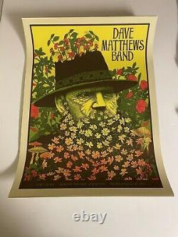 Dave Matthews Band Poster Noblesville N1 & N2 8/13 & 8/14/21 Both Prints IN HAND