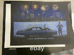 Dave Matthews Band Poster Northerly Island Chicago, IL July 4, 2014