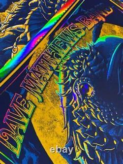Dave Matthews Band Poster Rainbow Foil Variant #/60 Ben Kwok Bioworkz DMB