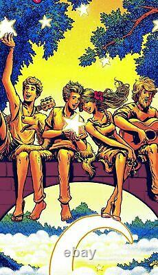 Dave Matthews Band Poster Raleigh NC 2021 AP S/N Only 75 James Flames IN HAND