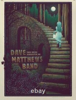 Dave Matthews Band Poster SNHU Arena Manchester, NH 12/4/18