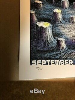 Dave Matthews Band Poster San Francisco CA 9/10 2019 Chase EMEK #/900 MINT