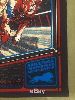 Dave Matthews Band Poster Saratoga Springs NY 6/12 2019 SPAC N1 Rich Kelly #/995