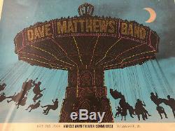 Dave Matthews Band Poster Summerfest 2014 7/2/14